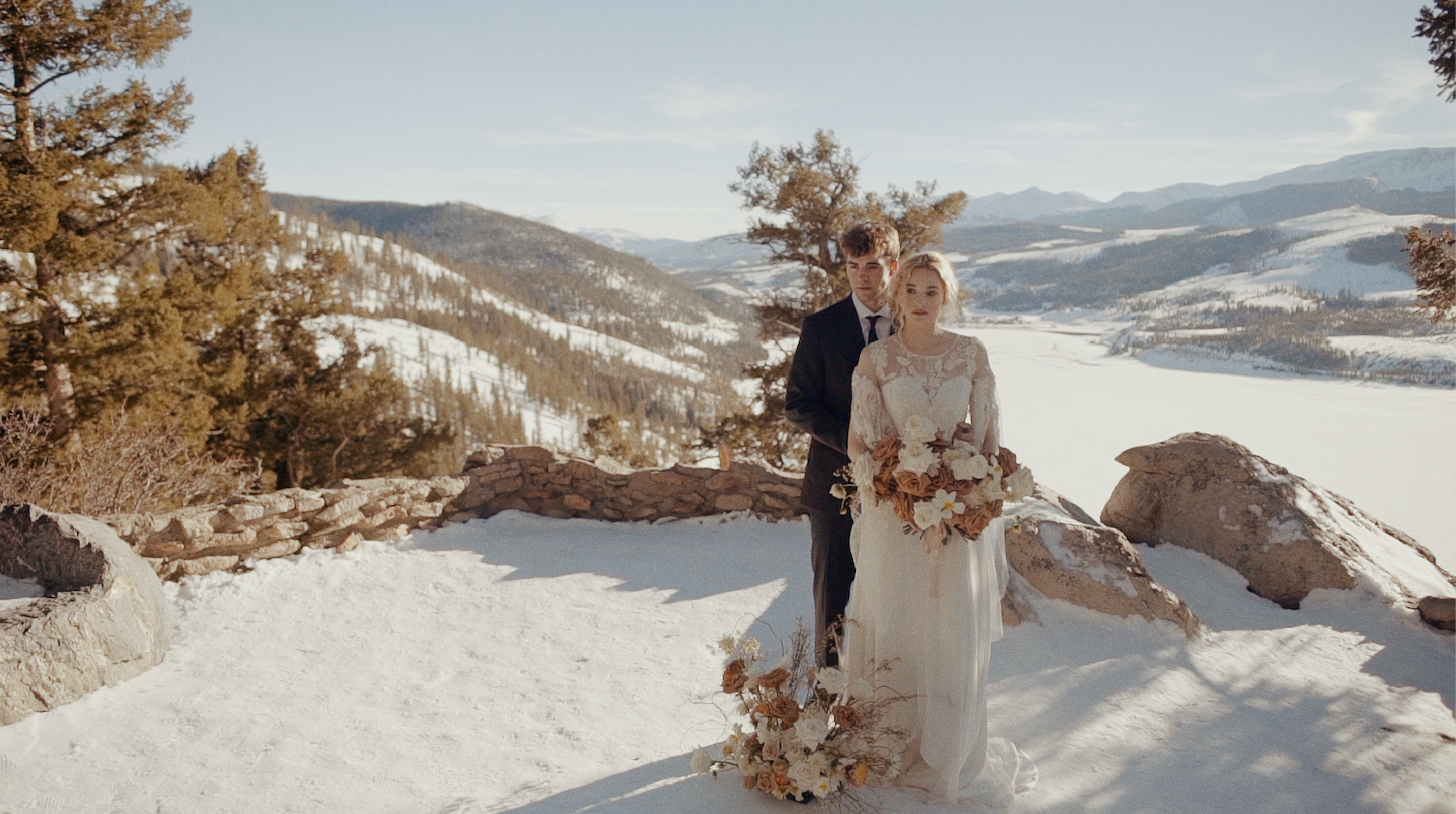Beautiful Destination Wedding Film // Breckenridge Editorial